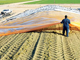 heavy duty tarps use grain silage underlay sheet