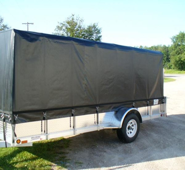 heavy duty tarps use trailer cover